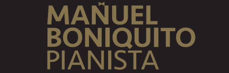 Manuel Boniquito, Pianista